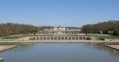 Vaux le Vicomte Castle — Vídeo de Stock