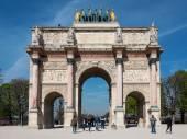 Triumphal Arch in Paris — Stock Photo