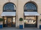 Mikimoto shop in place Vendome in Paris — Stock Photo