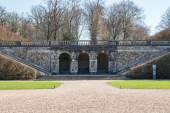 Vaux le Vicomte Castle garden in Paris — Stock Photo