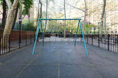 Mary O Connor empty playground in New York City — Stock Photo