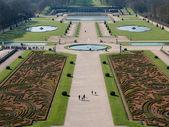 Garden of Vaux le Vicomte Castle in Paris — Stock Photo