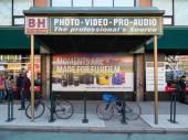 B and H Photo Store in New York — Zdjęcie stockowe