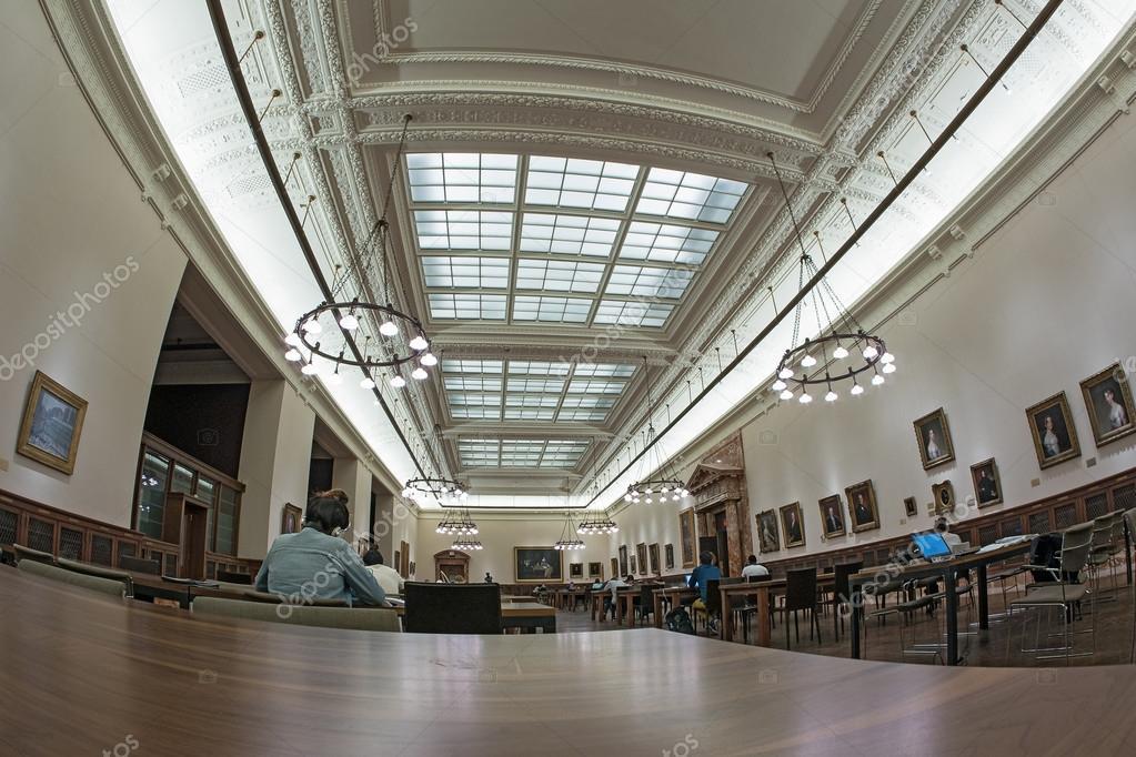 The Edna Barnes Salomon Room Inside New York Public