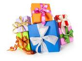 Geschenk-boxen — Stockfoto