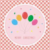 Merry Christmas greeting card4 — ストックベクタ