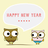 Happy new year greeting card6 — Stock Vector