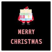 Merry Christmas greeting card10 — Stock Vector