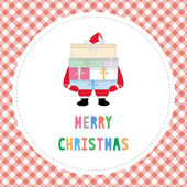 Merry Christmas greeting card32 — Stock Vector