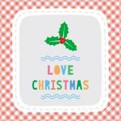 Merry Christmas greeting card34 — Stock Vector