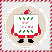 Merry Christmas greeting card42 — Stock Vector