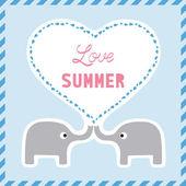 Love summer7 — Stock Vector