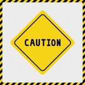 注意 sign2 — ストックベクタ