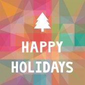 Happy holidays1 — Stock Vector