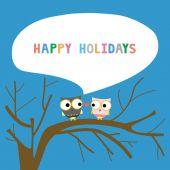Happy holidays16 — Stock Vector