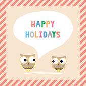 Happy holidays5 — Stock Vector