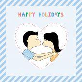 Happy holidays8 — 图库矢量图片