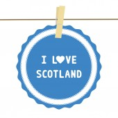 I lOVE SCOTLAND4 — Stock vektor