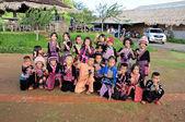 Hill tribe children — Stockfoto