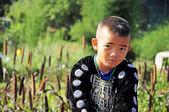 Hill tribe boy — Stock Photo