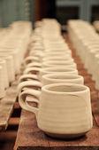 Ceramic cups — Stock Photo
