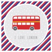 I love London11 — Stockvektor