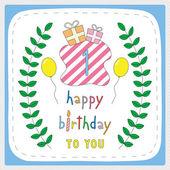 Happy birthday1 — Stock vektor