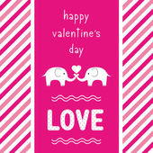 Happy valentine s day card2 — Stock Vector