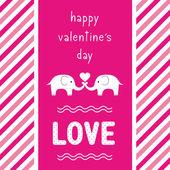 Happy valentine s day card2 — Stockvektor