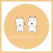 Happy valentine s day card6 — Stock Vector