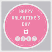 Happy valentine s day card17 — Stock Vector