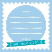 Happy valentine s day card19 — Stockvektor