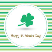 Happy Saint Patrick s Day Card7 — Stock Vector