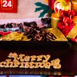 Christmas Table Setting. Holiday Decorations — Stock Photo #57115831