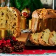 "Italian typical christmas cake called ""panettone"" — Stock Photo #59326451"