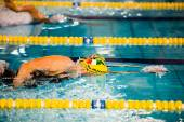 12 月 23 日 - ミラノ: s ・ ネグリ (イタリア) Swimmin で実行します。 — ストック写真