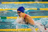MILAN - DECEMBER  23:  Giulia  Verona, breaststroke  currently i — Stock Photo