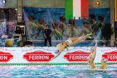 MILAN, JANUARY 10: Syncro Team  BPM Sport Management performing  — Foto Stock