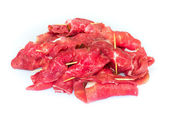 Raw uncooked beef roulades  — Foto Stock