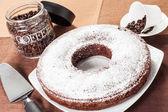 Gâteau en forme de beignet — Photo