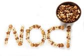 Variety nuts — Stock Photo