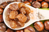Marrons glaces — Stock Photo