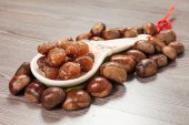 Marrons glaces — 图库照片