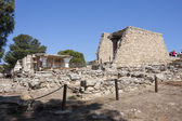 Knossos palace in Crete — Stock Photo