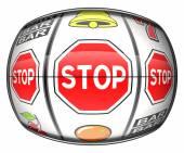 Gambling addiction illustration — Stock Photo