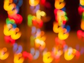 Abstract Light Bokeh Background — Stock Photo
