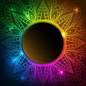 красочные кружева фон — Cтоковый вектор