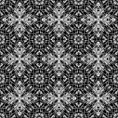 Black and white swirly pattern — Stock Vector