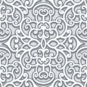 灰色无缝模式 — 图库矢量图片