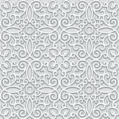 Grey seamless pattern — Stok Vektör